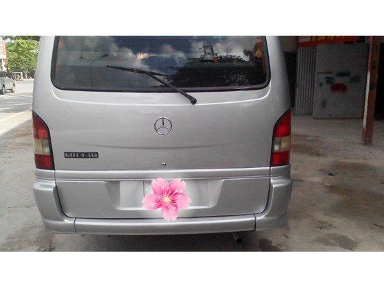 Bán Mercedes MB đời 2002, màu bạc, xe nhập, giá chỉ 155 triệu-1