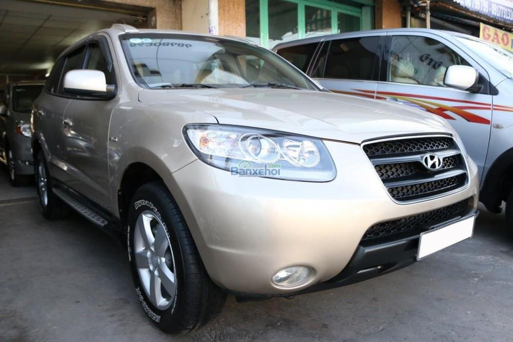 Cần bán Hyundai Santa Fe năm 2007, nhập khẩu nguyên chiếc, giá chỉ 610 triệu-2