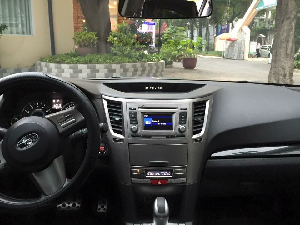 Bán ô tô Subaru Legacy đời 2011, màu xám, xe nhập-5
