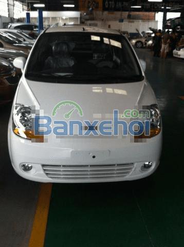 Cần bán Chevrolet Spark Van đời 2015, màu trắng, nhập khẩu chính hãng-0