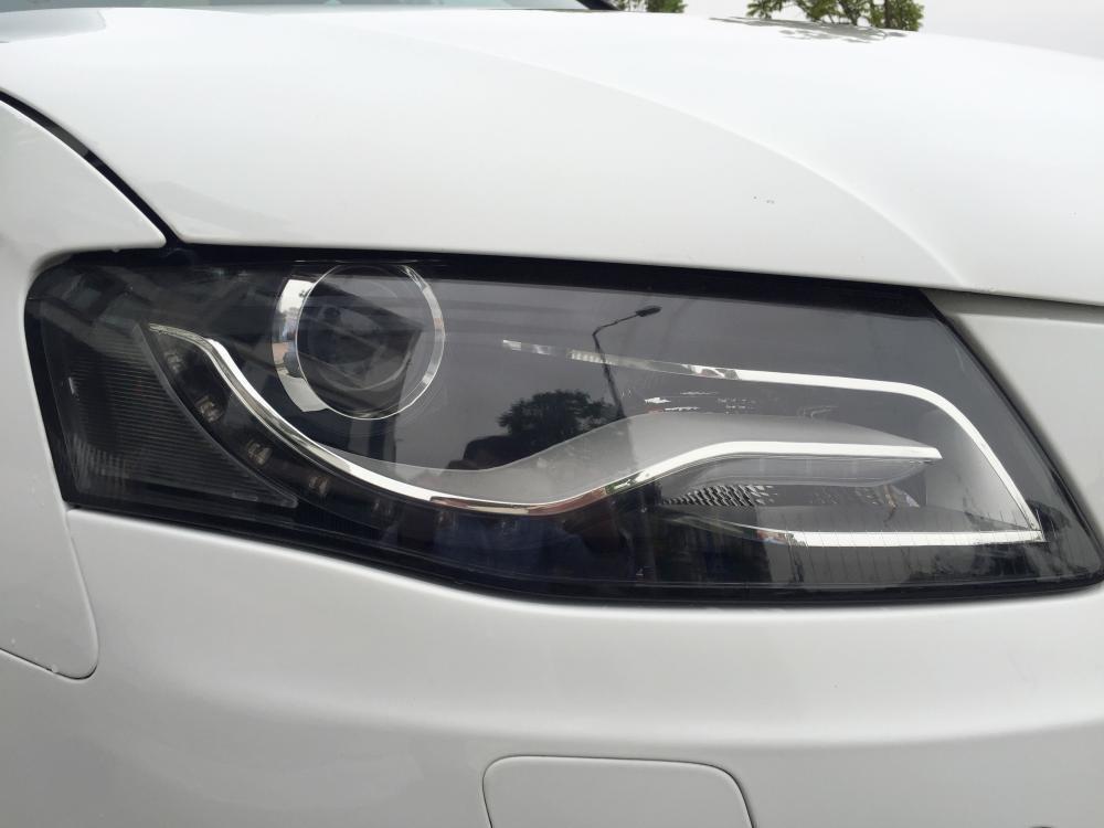 Cần bán gấp Audi A4 đời 2009, màu trắng, nhập khẩu nguyên chiếc, số tự động -7