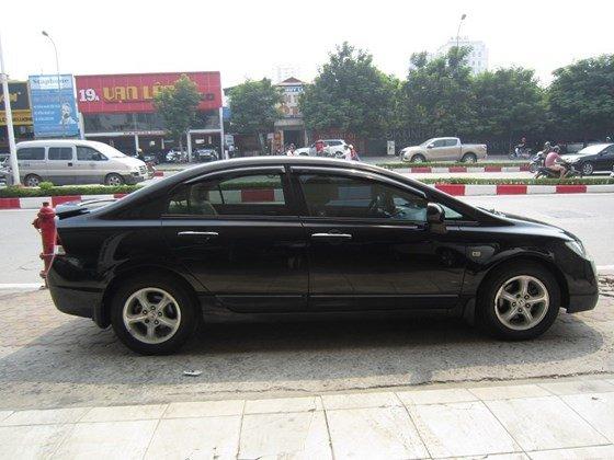 Bán xe Honda Civic đời 2009, màu đen, xe nhập, còn mới-0