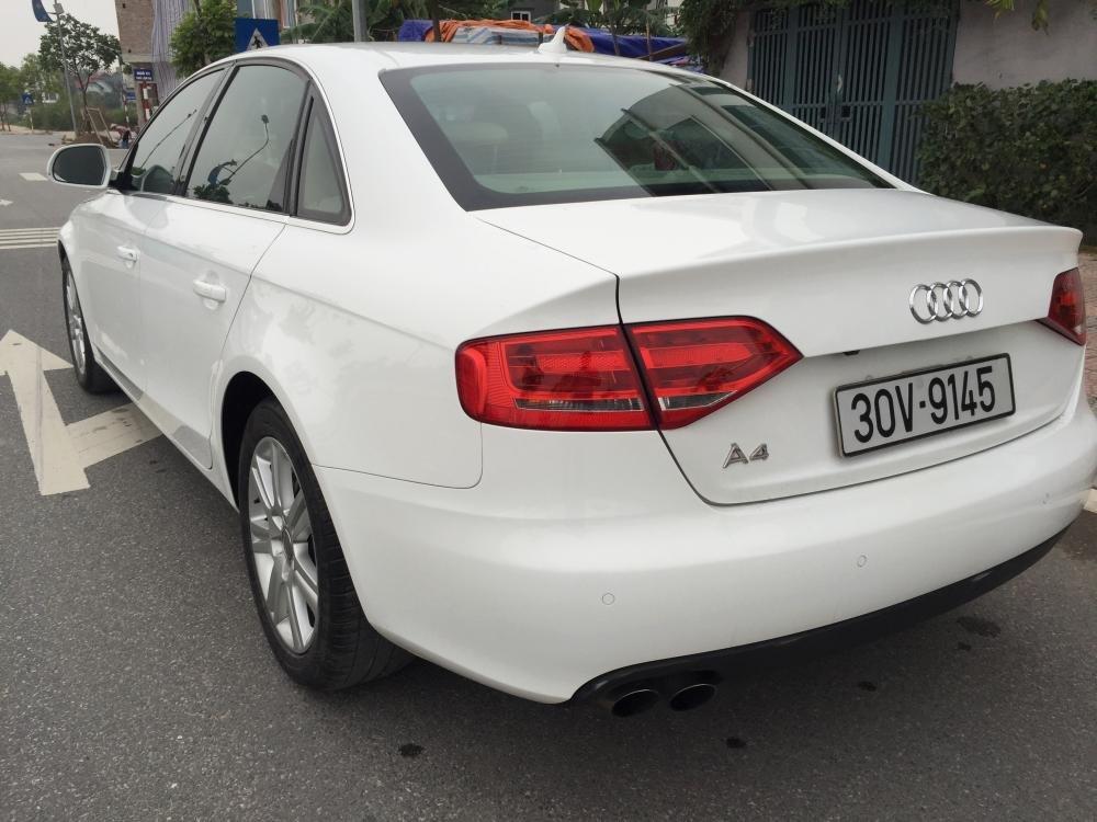 Cần bán gấp Audi A4 đời 2009, màu trắng, nhập khẩu nguyên chiếc, số tự động -4