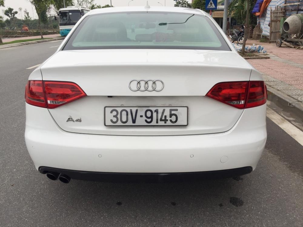 Cần bán gấp Audi A4 đời 2009, màu trắng, nhập khẩu nguyên chiếc, số tự động -6