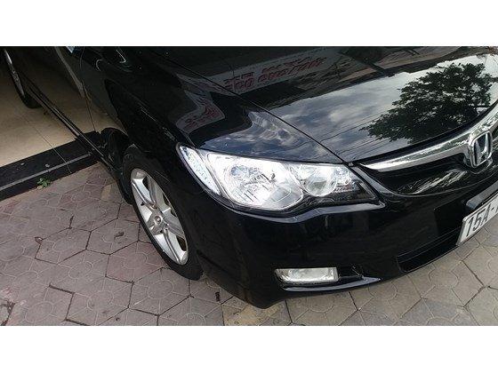 Cần bán Honda Civic sản xuất 2008, màu đen, nhập khẩu chính hãng-0