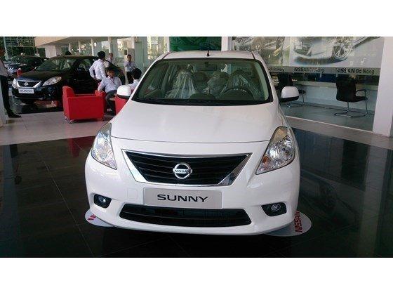 Bán xe Nissan Sunny sản xuất 2015, màu nâu, xe nhập, 485 triệu-1