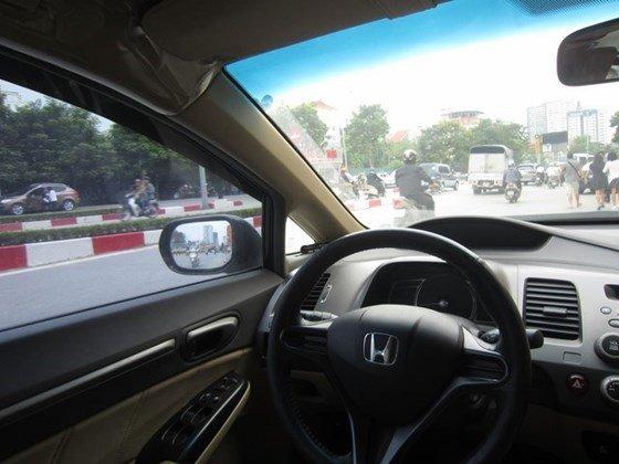 Bán xe Honda Civic đời 2009, màu đen, xe nhập, còn mới-7