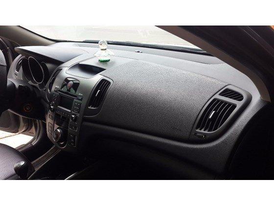 Cần bán xe Kia Forte đời 2012, màu xám, nhập khẩu, số sàn -12