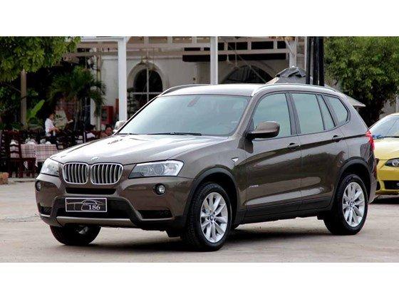 Bán ô tô BMW X3 đời 2012, màu nâu, nhập khẩu chính hãng, số tự động-0