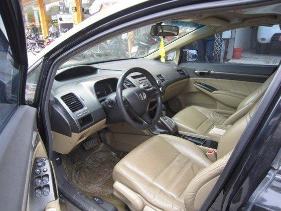 Bán xe Honda Civic đời 2009, màu đen, xe nhập, còn mới-1