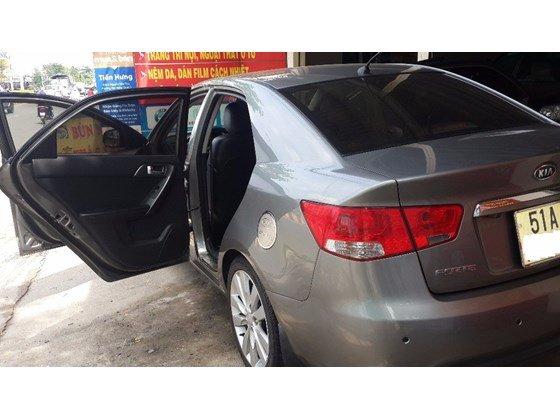 Cần bán xe Kia Forte đời 2012, màu xám, nhập khẩu, số sàn -7