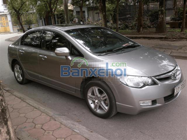 Cần bán lại xe Honda Civic đời 2009, màu bạc, nhập khẩu -0