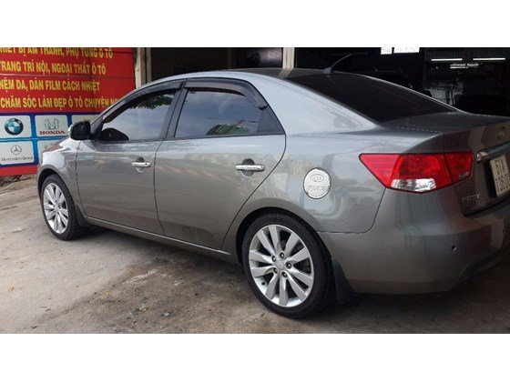 Cần bán xe Kia Forte đời 2012, màu xám, nhập khẩu, số sàn -3