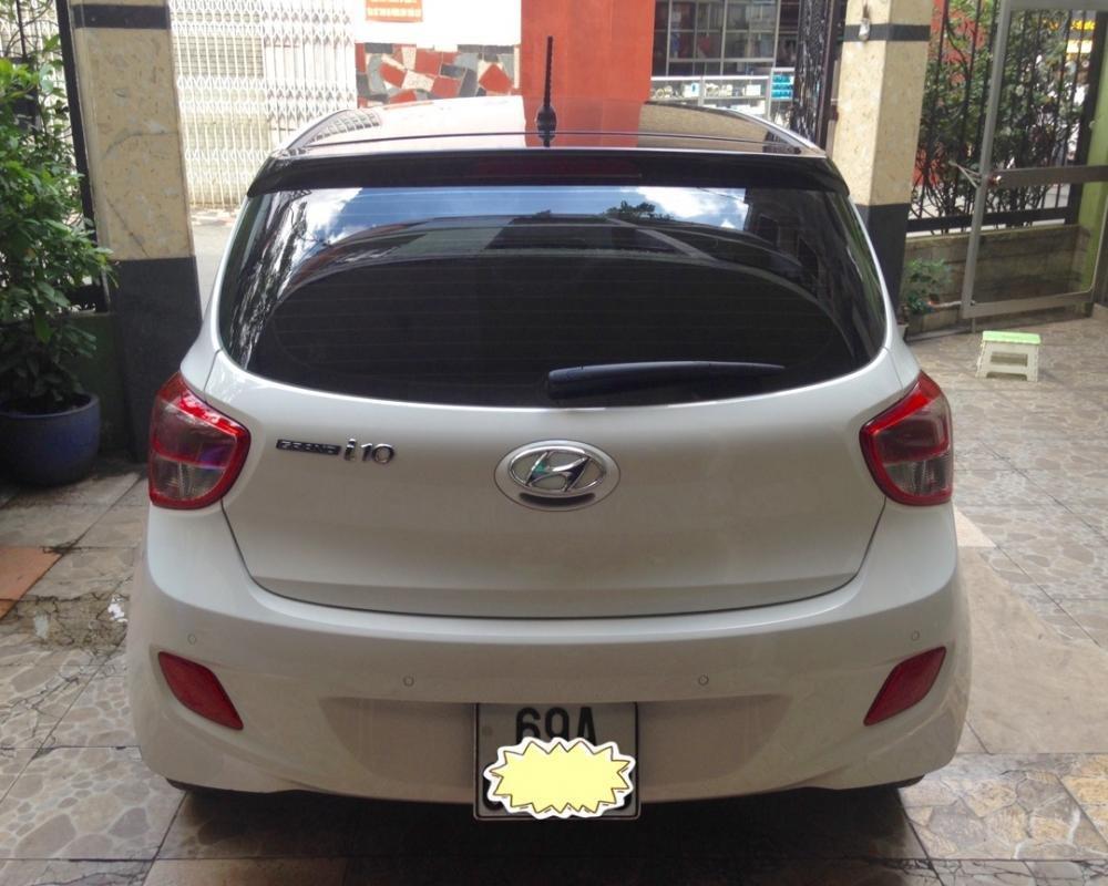 Cần bán lại xe Hyundai i10 đời 2015, màu trắng, nhập khẩu chính hãng-5