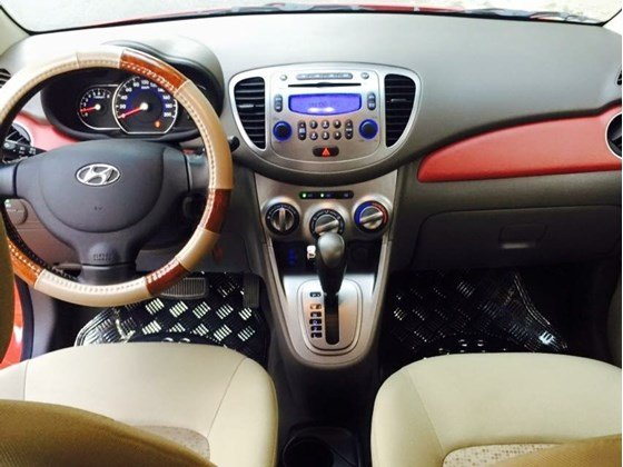Cần bán Hyundai i10 năm 2012, màu đỏ, nhập khẩu, chính chủ-7