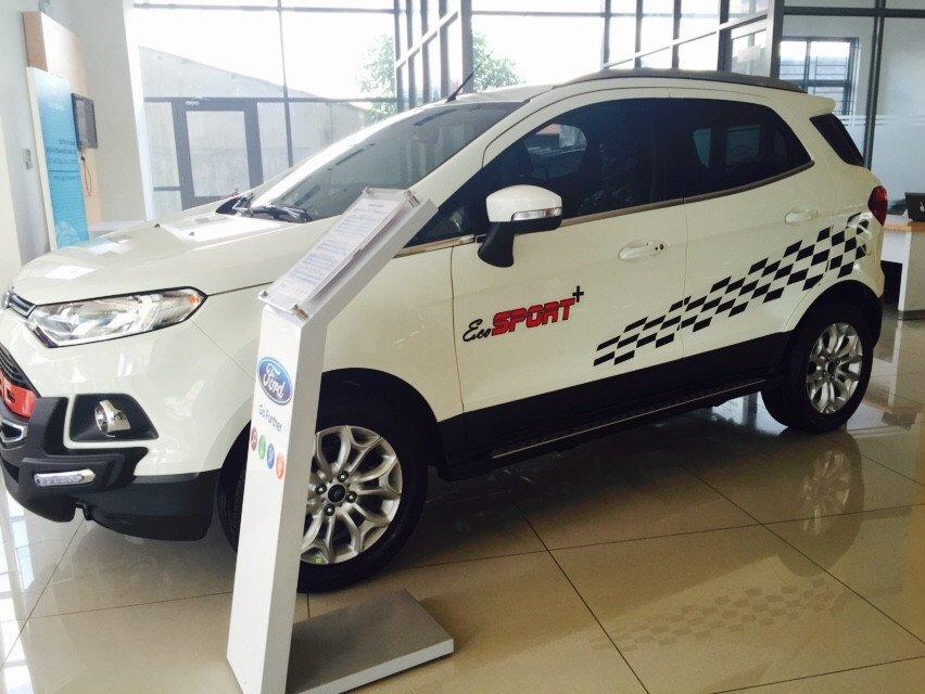 Cần bán xe Ford EcoSport đời 2015, màu trắng - LH ngay 0938380696-2