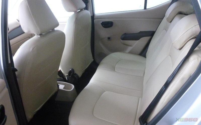 Bán xe Hyundai i10 sản xuất 2009, màu bạc, xe nhập-5