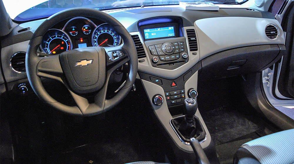 Bán ô tô Chevrolet Cruze sản xuất 2015, màu trắng, 552 triệu xe đẹp-6