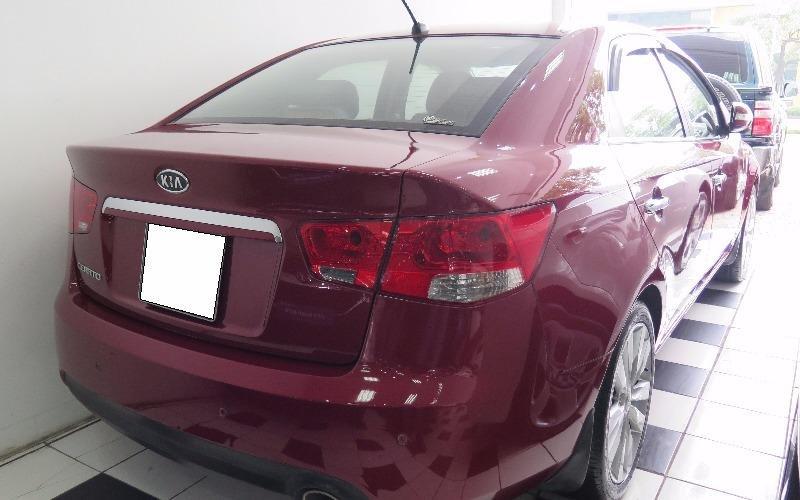 Cần bán gấp Kia Cerato đời 2010, màu đỏ, nhập khẩu-8