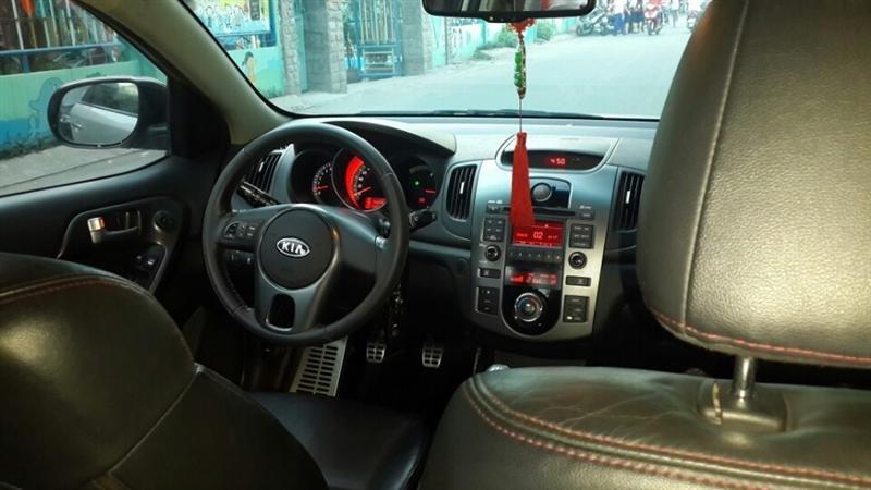 Bán ô tô Kia Forte LTZ sản xuất 2011, màu bạc, số sàn -2