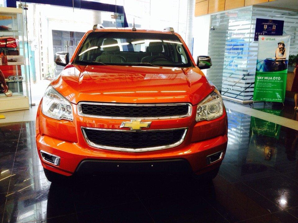 Xe Chevrolet Colorado đời 2015, nhập khẩu chính hãng-1
