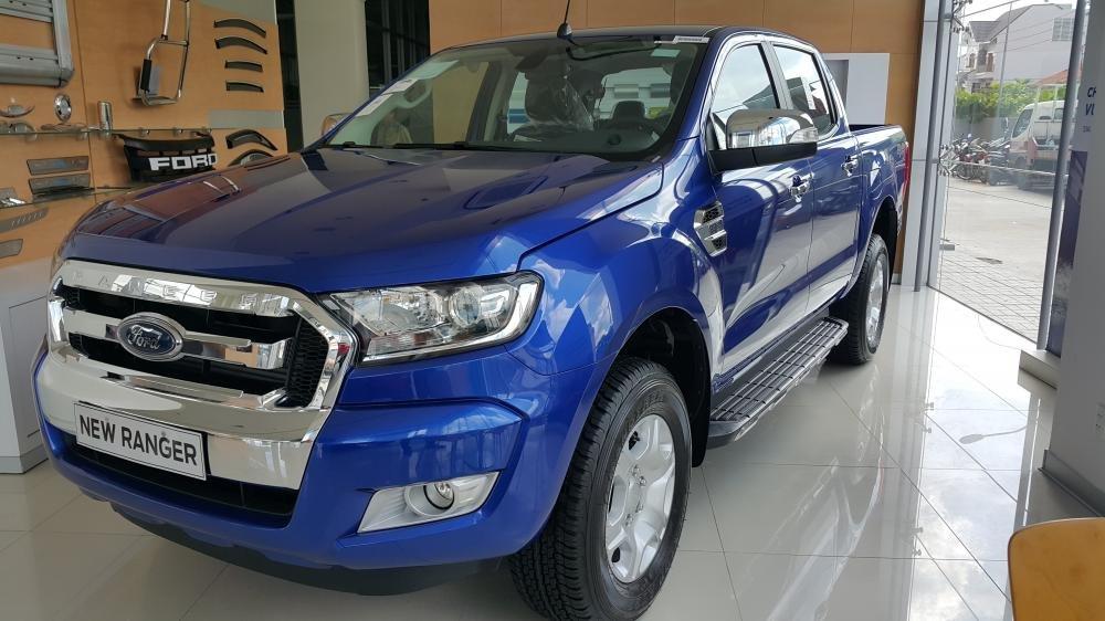 Cần bán Ford Ranger năm 2015, màu xanh lục, nhập khẩu chính hãng, giá chỉ 758 triệu-0