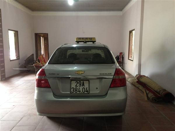 Tôi cần bán giàn xe Taxi số lượng 12 xe Chevret Aveo LT – sản xuất năm 2011-1