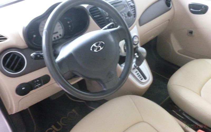 Bán xe Hyundai i10 sản xuất 2009, màu bạc, xe nhập-4