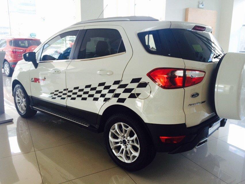 Cần bán xe Ford EcoSport đời 2015, màu trắng - LH ngay 0938380696-3