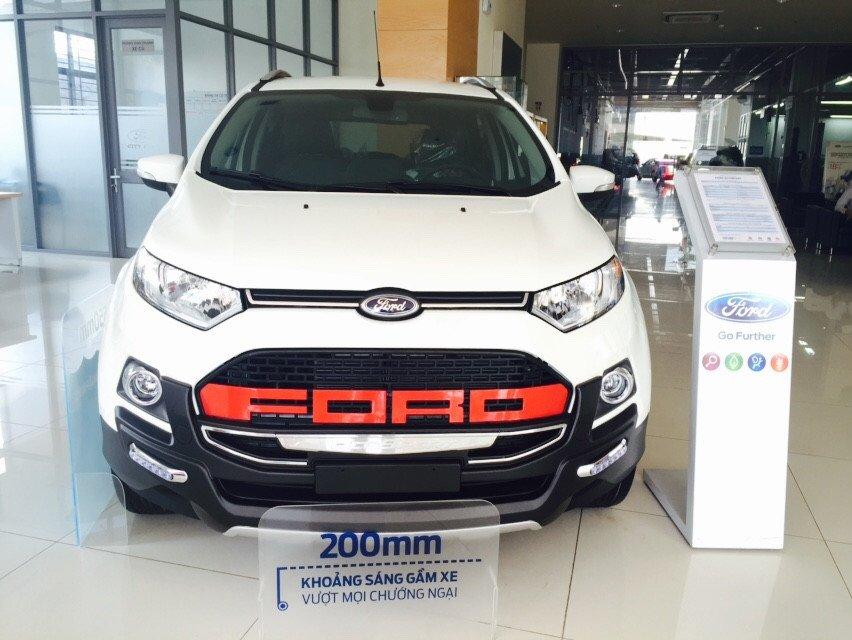 Cần bán xe Ford EcoSport đời 2015, màu trắng - LH ngay 0938380696-1