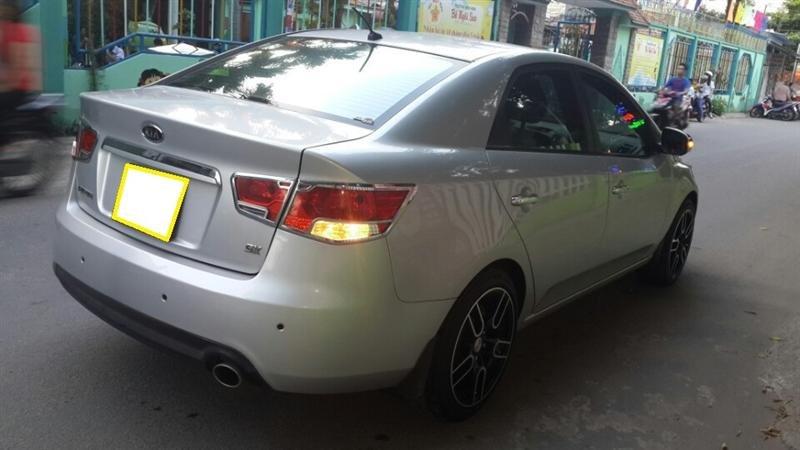 Bán ô tô Kia Forte LTZ sản xuất 2011, màu bạc, số sàn -5