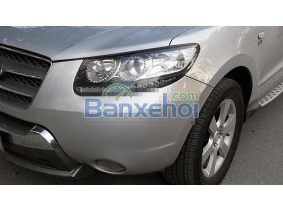Cần bán lại xe Hyundai Santa Fe SLX đời 2008, màu bạc, nhập khẩu -5
