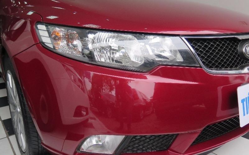 Cần bán gấp Kia Cerato đời 2010, màu đỏ, nhập khẩu-1