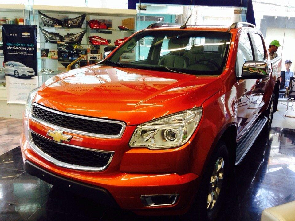 Xe Chevrolet Colorado đời 2015, nhập khẩu chính hãng-0