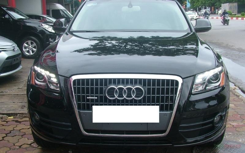 Cần bán xe Audi Q5 đời 2011, màu đen, xe nhập-1
