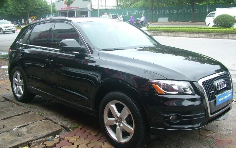 Cần bán xe Audi Q5 đời 2011, màu đen, xe nhập-0