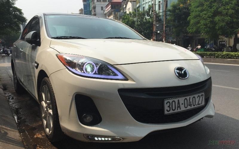 Cần bán gấp Mazda 3 năm 2013, màu trắng, số tự động, giá chỉ 675 triệu-0