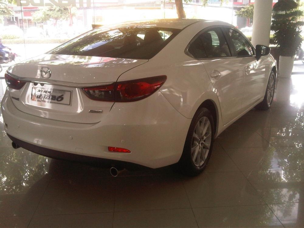 Bán xe Mazda 6 đời 2015, màu trắng, nhập khẩu nguyên chiếc-2