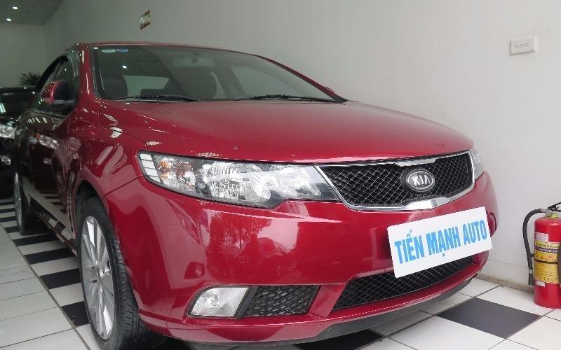 Cần bán gấp Kia Cerato đời 2010, màu đỏ, nhập khẩu-0