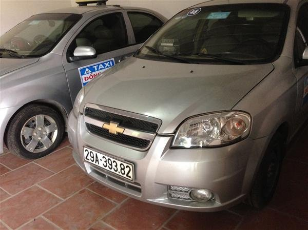 Tôi cần bán giàn xe Taxi số lượng 12 xe Chevret Aveo LT – sản xuất năm 2011-5
