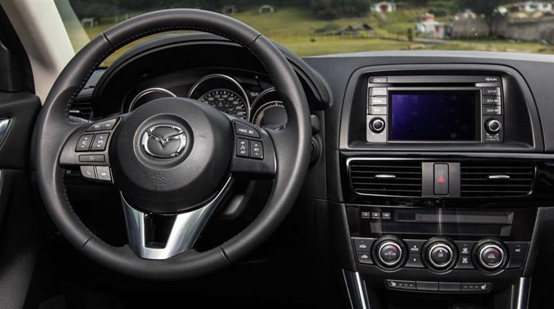 Cần bán Mazda CX 5 đời 2015, màu trắng-1