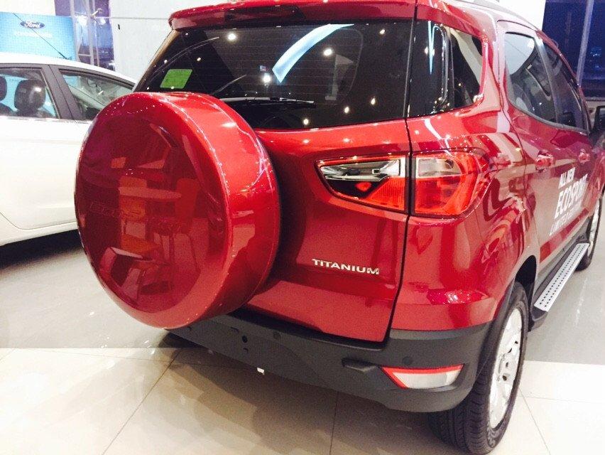 Bán xe Ford EcoSport sản xuất 2015, màu đỏ-3