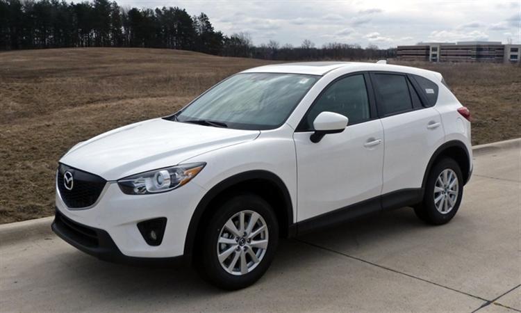 Cần bán Mazda CX 5 đời 2015, màu trắng-0