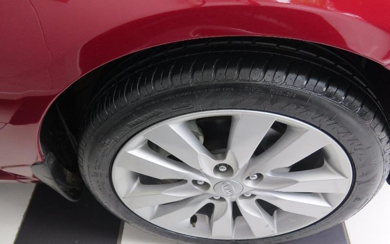 Cần bán gấp Kia Cerato đời 2010, màu đỏ, nhập khẩu-2