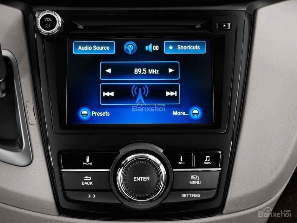 Đánh giá tiện ích trên xe Honda Odyssey 2016