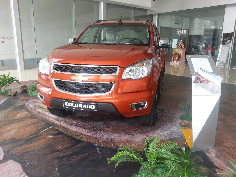 Chevrolet Colorado năm 2015, nhập khẩu chính hãng, giá tốt-0