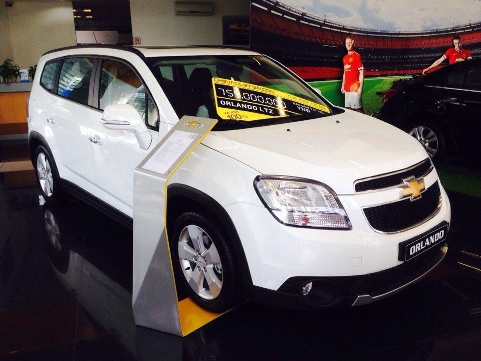 Chevrolet Orlando 1.8L LTZ - AT 759 triệu tặng dán phim 3m 5 món phụ kiện-0
