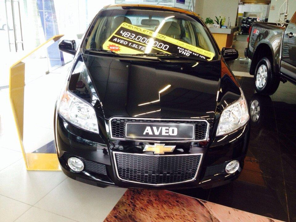 Chevrolet Aveo 1.5L LTZ - AT 453 triệu tặng dán phim 3m 5 món phụ kiện-0