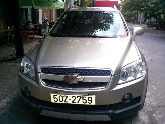Cần bán gấp xe Captiva LTZ, sản xuất 2007, màu vàng cát, xe mua mới 1 đời chủ-6
