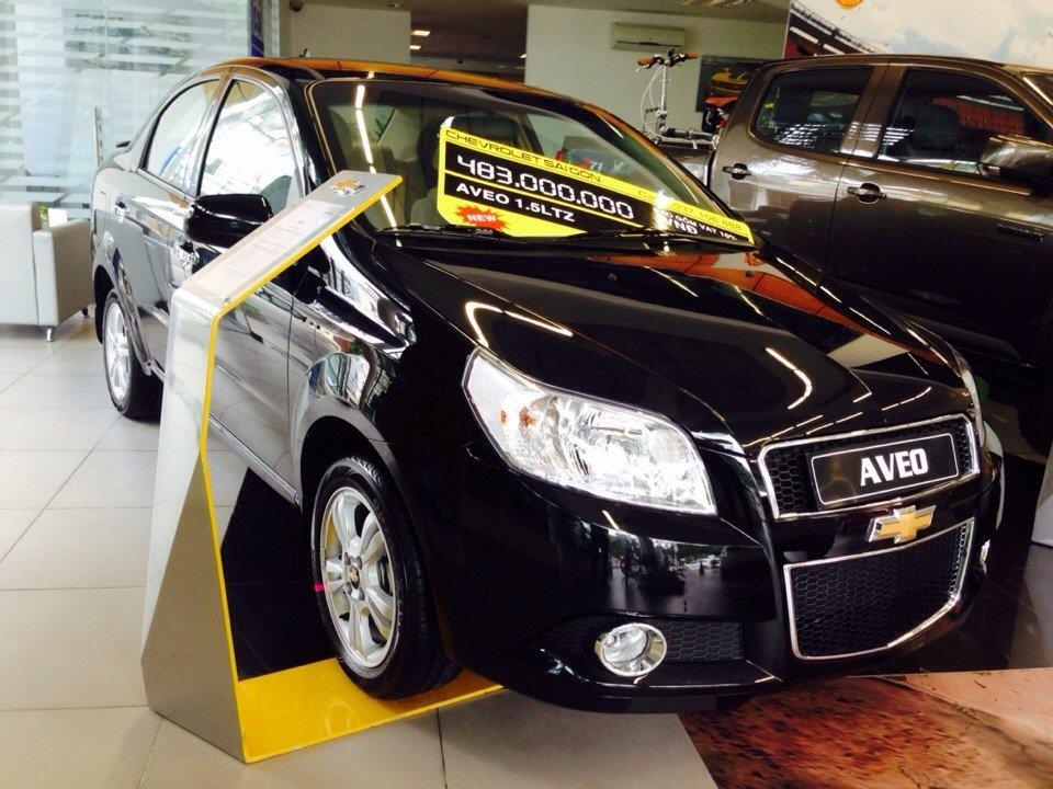 Chevrolet Aveo 1.5L LTZ - AT 453 triệu tặng dán phim 3m 5 món phụ kiện-1